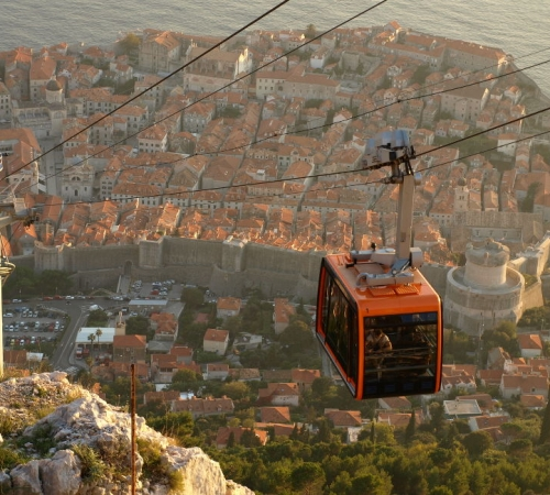 Cable Car to Mount Srđ